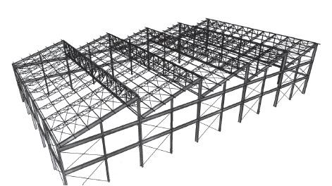 estrutura metálica para galpão