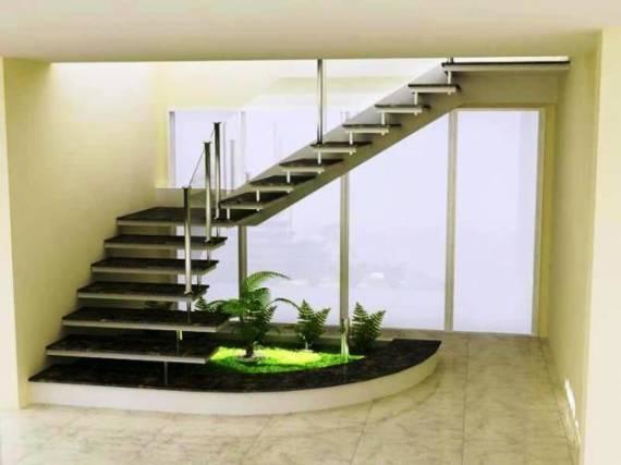 """Escada Metálica em """"L"""""""