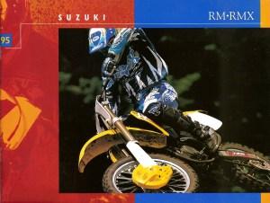 1995 Suzuki RM80 RM125 RM250 RMX250
