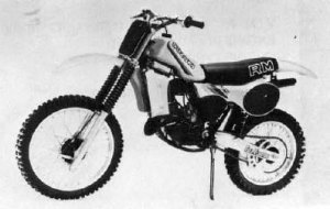 1982 Suzuki RM125Z