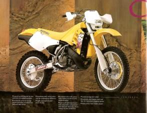 1995 Suzuki RM - RMX Brochure - Page 7