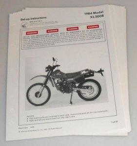 1984 Honda XL200