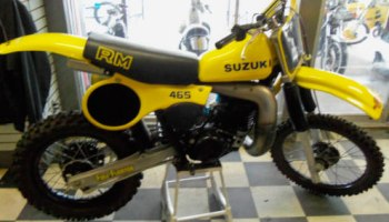 1983 rm 125 engine - Full Floater Suzuki RM Vintage Motocross