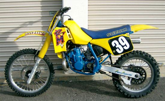1987 Suzuki RM250