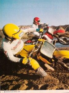Motorcyclist - March 1982 RM250Z VS. CR250R