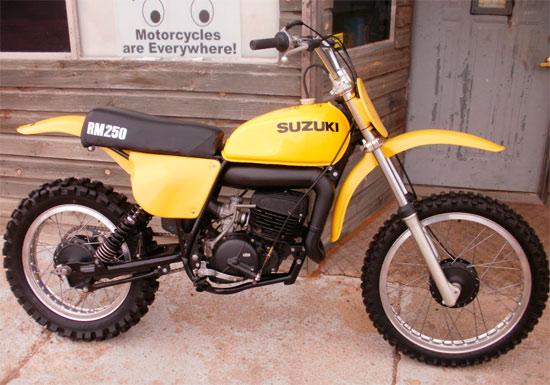 1976 Suzuki RM250