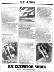 Motocross Action - Jan 1982 - Adjustable Strut Comparison