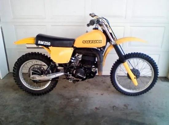 1978 Suzuki RM250 for sale