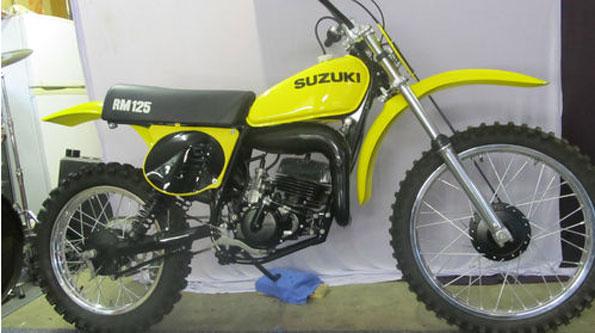 1976 SUZUKI RM125A
