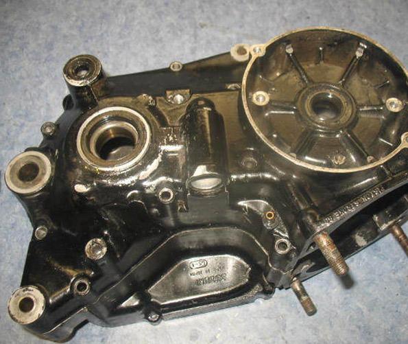 1982 SUZUKI RM465Z CRANKCASE CASES