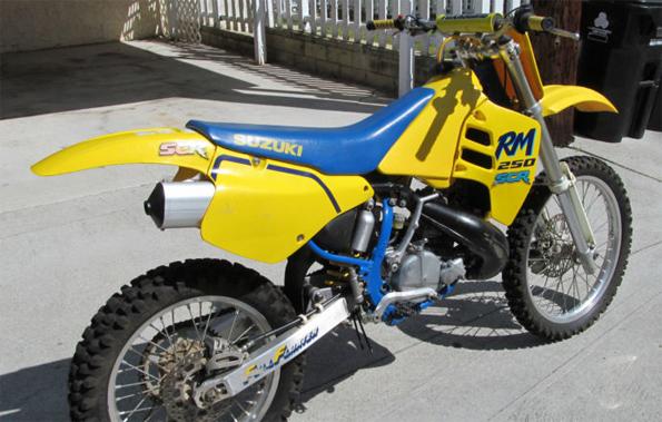 1989 Suzuki RM250