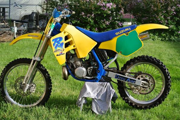 1990 Suzuki RM250