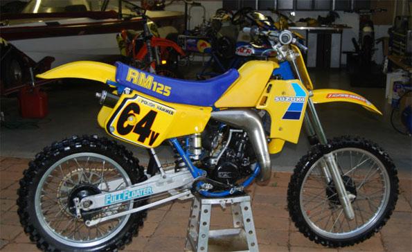 1984 Suzuki RM125