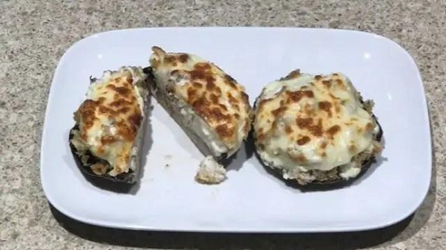 Recipe For Lobster And Mushrooms Stuffed Portobello