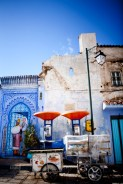 Chefchaouen* and painting