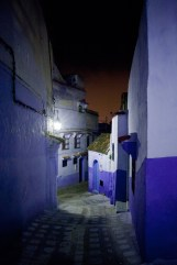 Chefchaouen * red sky