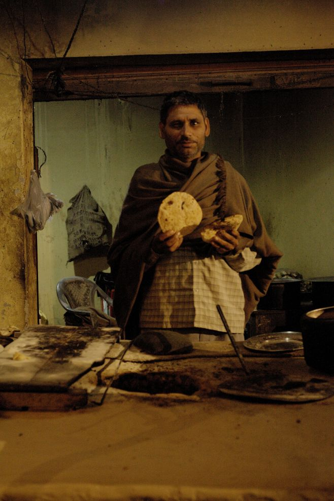 INDIA ** night CHAPATI