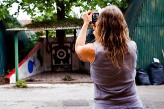 Allegra Corbo fotografa il suo lavoro