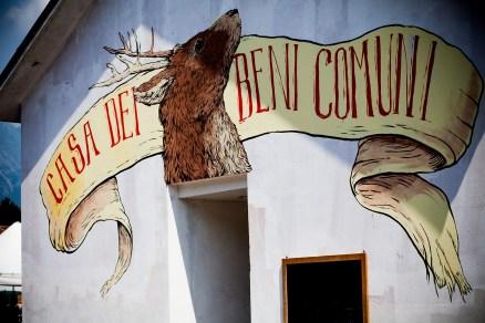 ericailcane per la Casa dei Beni Comuni
