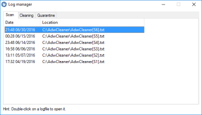 AdwCleaner 7.2.2.0 Serial Key