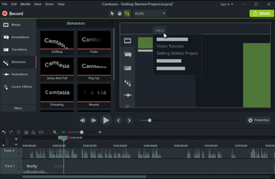 Camtasia Studio 2019.0.7 Crack with License Key Torrent All