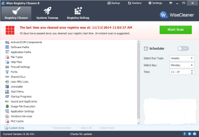 Wise Registry Cleaner 10.14 Serial Key + Crack Full Download