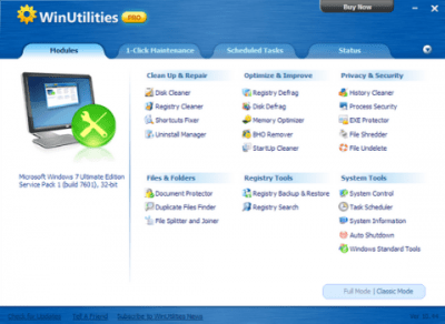 WinUtilities Pro Crack 15.74 Key Latest Version 2020