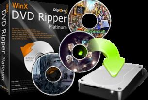 WinX DVD Ripper Platinum 8.20.4.2245 Crack + License Code 2021