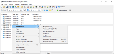 SoftPerfect Network Scanner 7.2.9 Crack + Keygen Full Version 2020