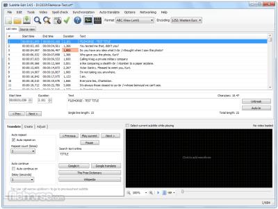 Subtitle Edit 3 5 11 Crack For Mac + Key Free Download