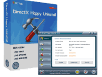 DirectX Happy Uninstall 6.86 Crack Latest Version Free Registration Code