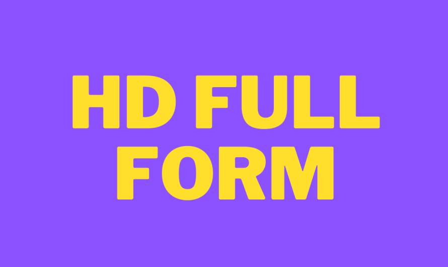 HD FULL FORM IN HINDI ? HD KA PURA NAAM