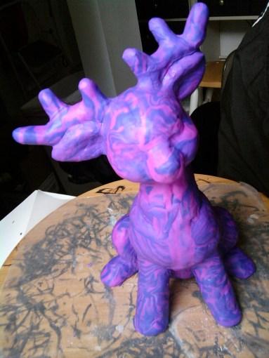 Black Light Reindeer (c)2011 The Full Gamut Workshop