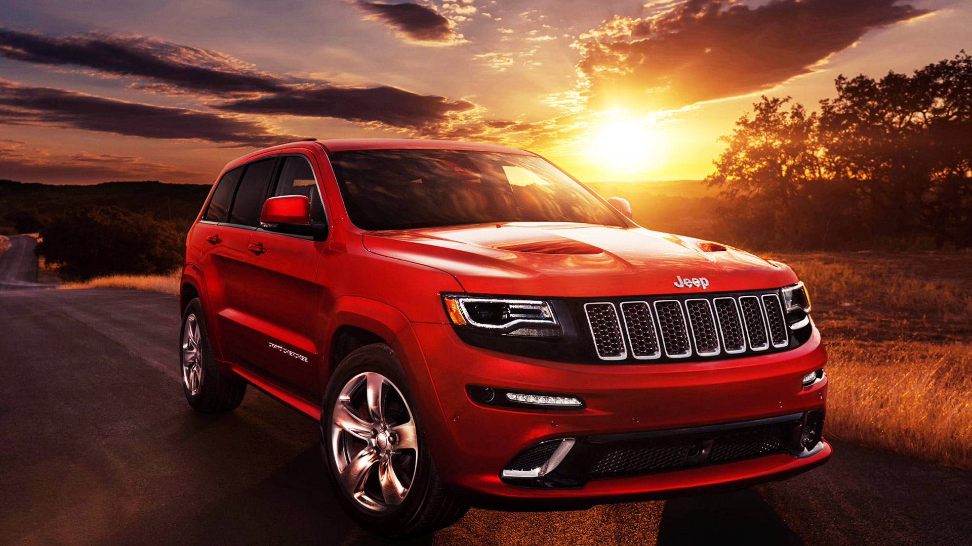 Excellent Jeep Grand Cherokee SRT Wallpaper Full HD Pictures