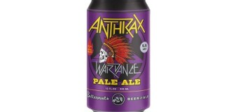 Anthrax Debuts New Pale Ale Craft Beer, 'Wardance'