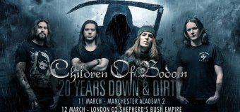Children of Bodom 2017 Tour Dates w/ Forever Still – Video Message