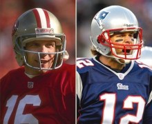 Joe Montana Still Not Ready to Hand Over Title to Brady
