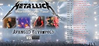 Metallica, Avenged Sevenfold, Volbeat Announce 2017 Tour Dates