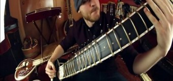 Watch Rob Scallion Shred on His Sitar – Video for 'Sitar Metal'