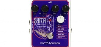 Video: Electro-Harmonix Synth9 Synthesizer Guitar Pedal, Synth 9