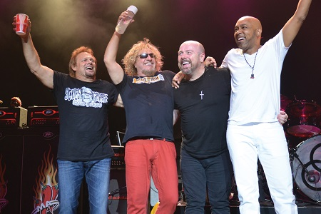 Jason Bonham Films Sammy Hagar and The Circle Playing Van Halen 'Dreams'