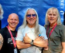 Uriah Heep to Resume Tour in March, Update from Bernie Shaw