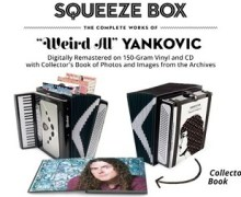 """Weird Al"" Yankovic Box Set, Squeeze Box, Remastered Recordings"