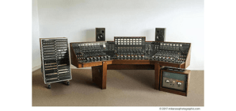 Pink Floyd, Beatles Recording Console Auction, Dark Side of the Moon, Desk, Board
