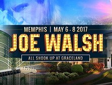Stay with Joe Walsh at Graceland, 3 Days & 2 Nights – May 6-8 2017