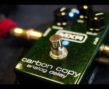 The MXR Carbon Copy Analog Delay Guitar Pedal, Settings, Demo