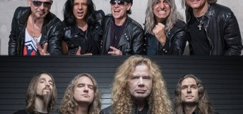 Scorpions / Megadeth Announce 2017 North Amercian Tour