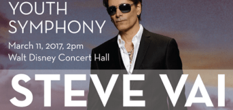 Steve Vai to Perform w/ American Youth Symphony on March 11