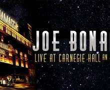 'Joe Bonamassa Live At Carnegie Hall' Coming on CD, DVD, Blu-Ray, Vinyl – VIDEO Trailer