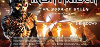 Iron Maiden 2017 UK / European Tour Dates w/ Shinedown + Video Message from Nicko McBrain